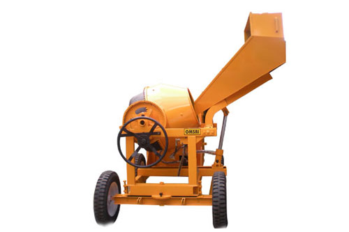 Concrete Mixer With Hydraulic Hopper Prem Industries