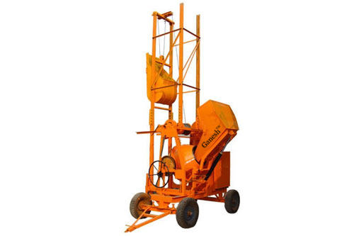 Buy Concrete Mixer With Hydraulic Hopper and Lift Machine