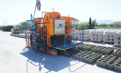 Concrete Block Making Machine Manufacturers in Batala