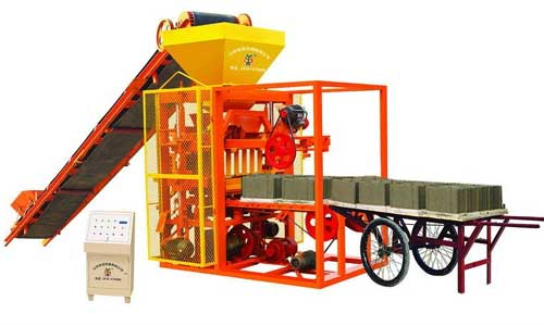 Concrete Block Making Machine Manufacturers in India